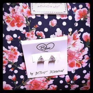 Betsey Johnson stud earrings